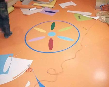 室内幼儿园塑胶地板:艺源教育吉丁堡幼儿园